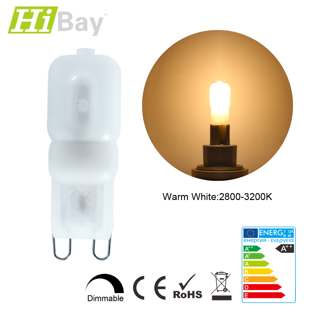 1er 10er dimmbar g9 3w mini halogen licht lampen kapsel led bulb chandelier ebay. Black Bedroom Furniture Sets. Home Design Ideas