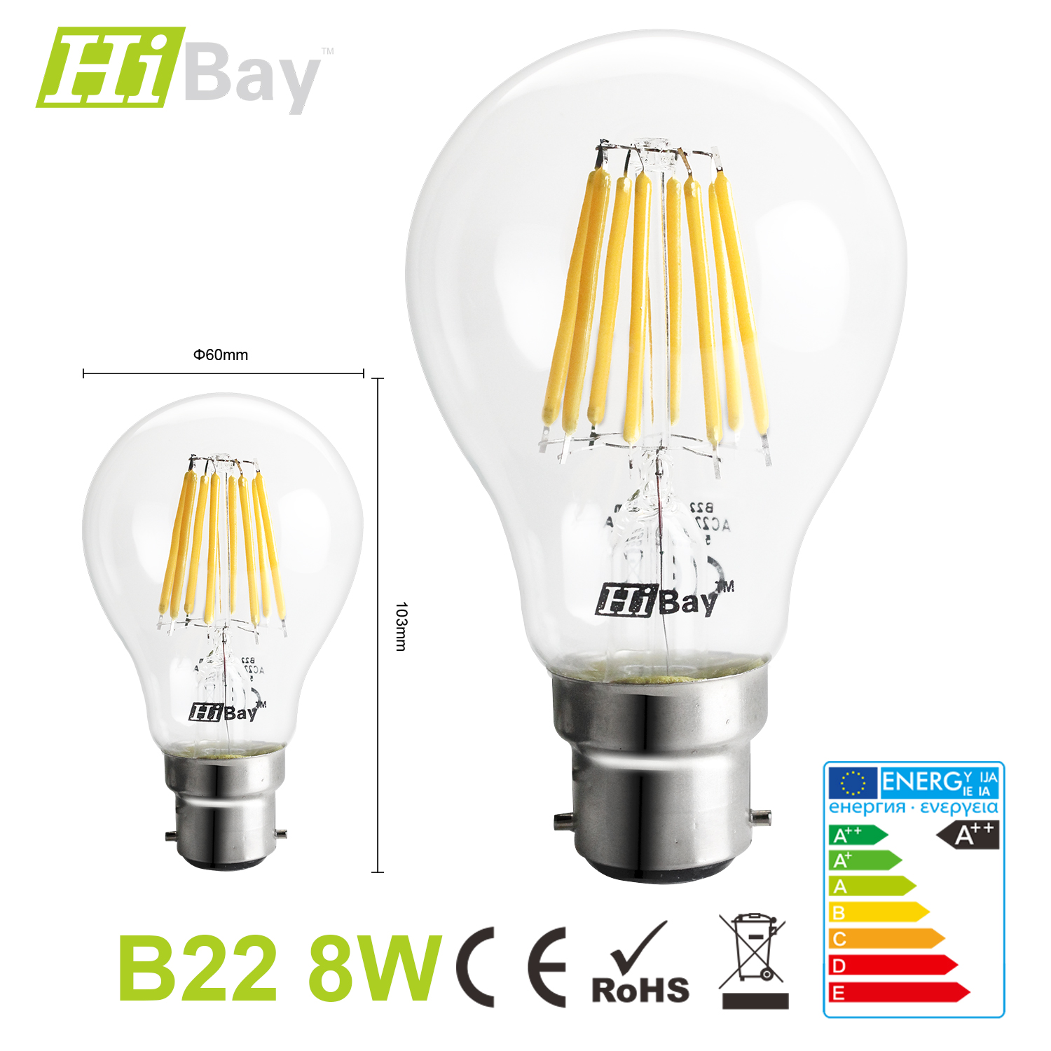 led filament lampen e14 e27 b22 qualit t leuchte strahler gl hbirne a60 st64 ebay. Black Bedroom Furniture Sets. Home Design Ideas