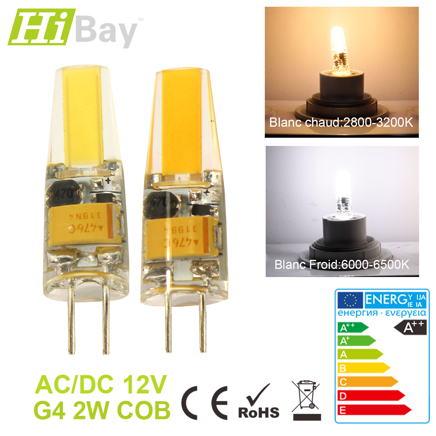g4 g9 e14 led ampoule ma s capsule lampe cob smd lumi re bulbe blanc chaud froid ebay. Black Bedroom Furniture Sets. Home Design Ideas