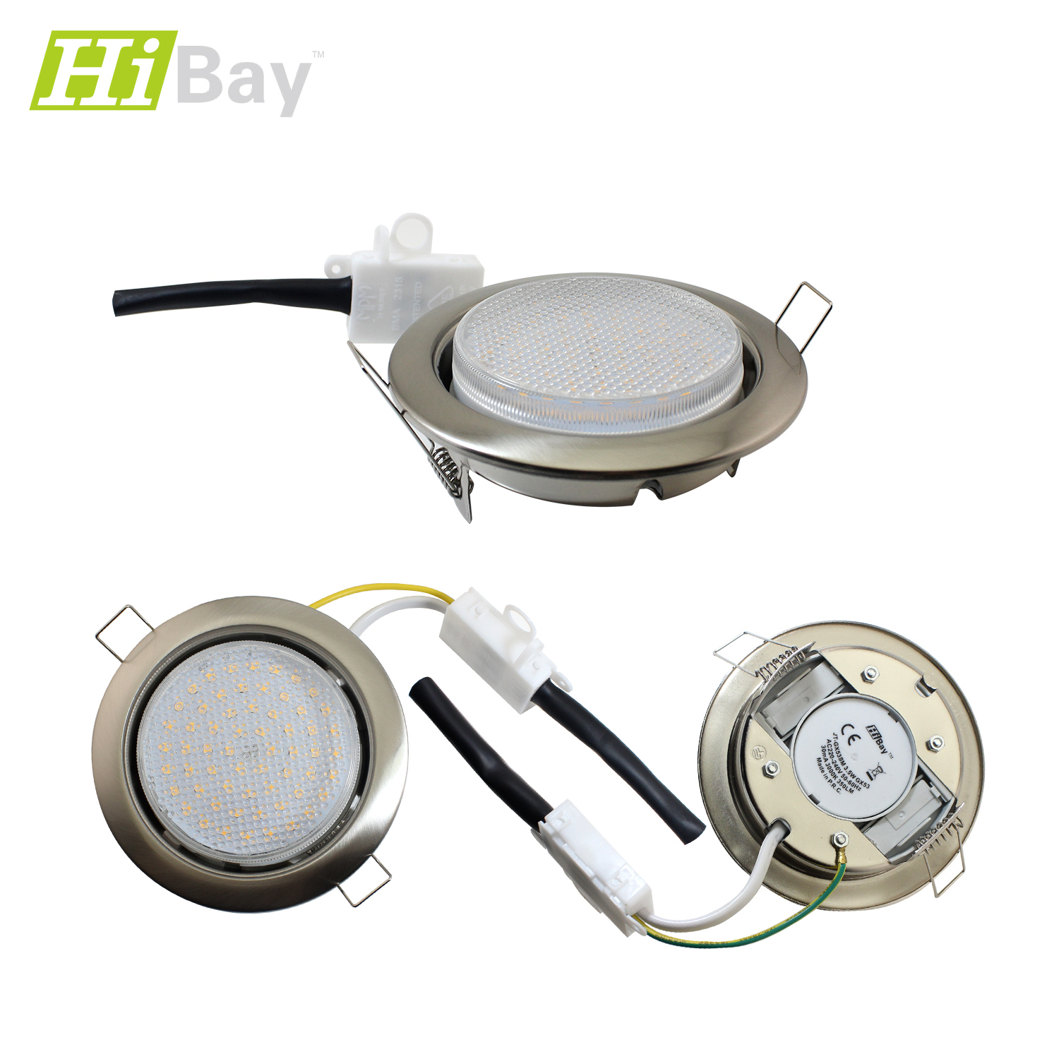 Under Cabinet Led Strip Light Fitting 5w Warm White 303mm: Recessed / Surface Mounted LED Kitchen Cabinet Spot Light