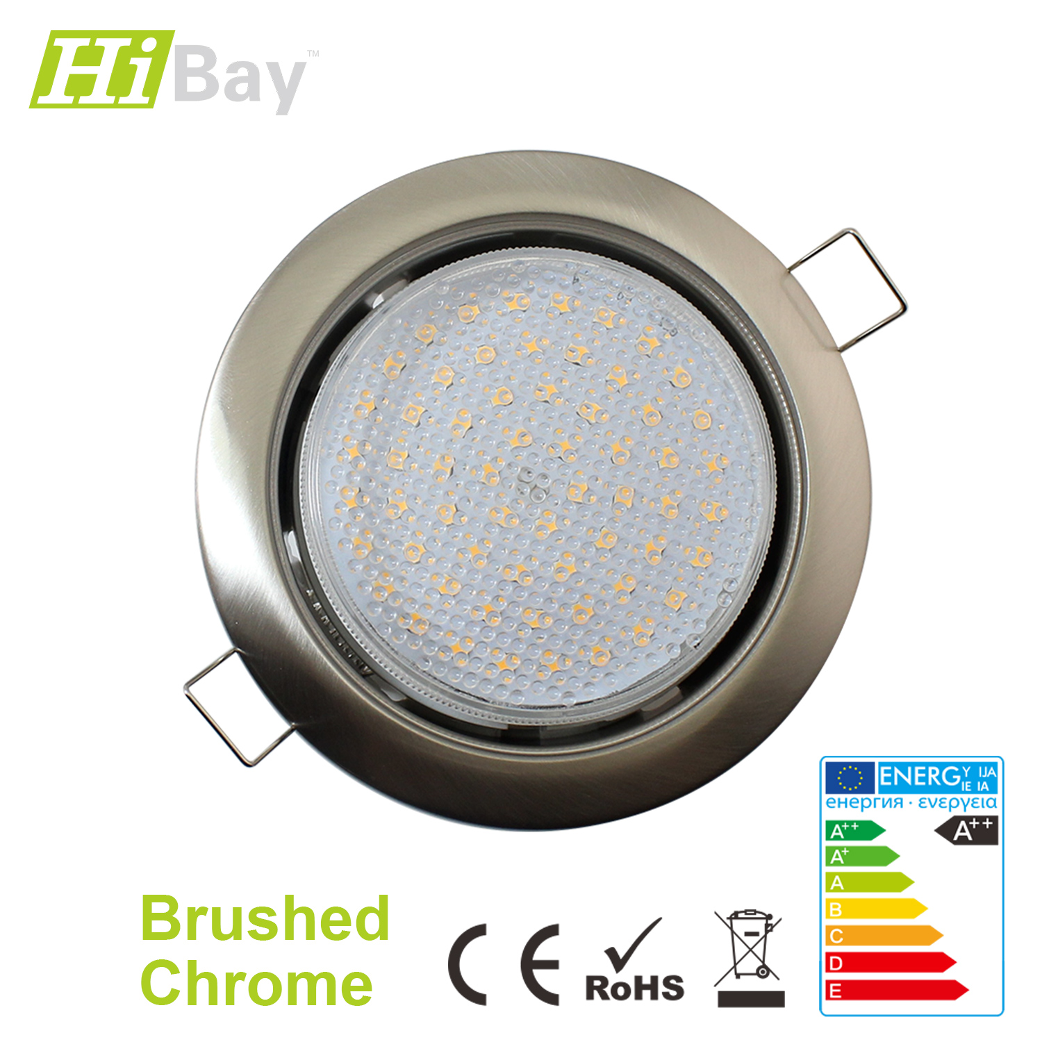 Under Cabinet Led Strip Light Fitting 5w Warm White 303mm: Recessed / Surface Mounted GX53 LED Kitchen Cabinet Bulb