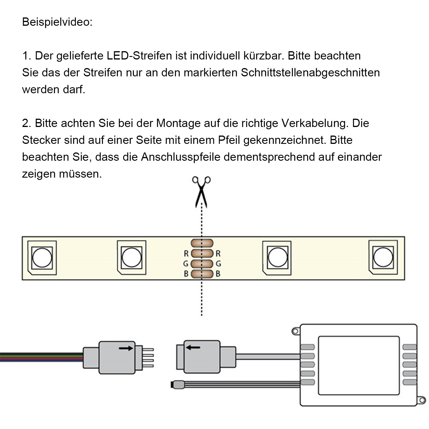 Beste Led Verkabelung Ideen - Schaltplan Serie Circuit Collection ...