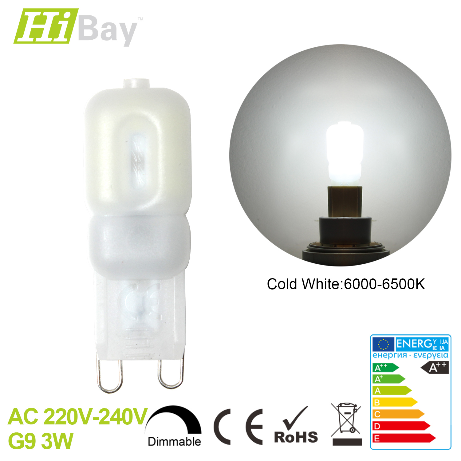 g9 3w 5w mini led light bulb capsule chandelier lamp. Black Bedroom Furniture Sets. Home Design Ideas