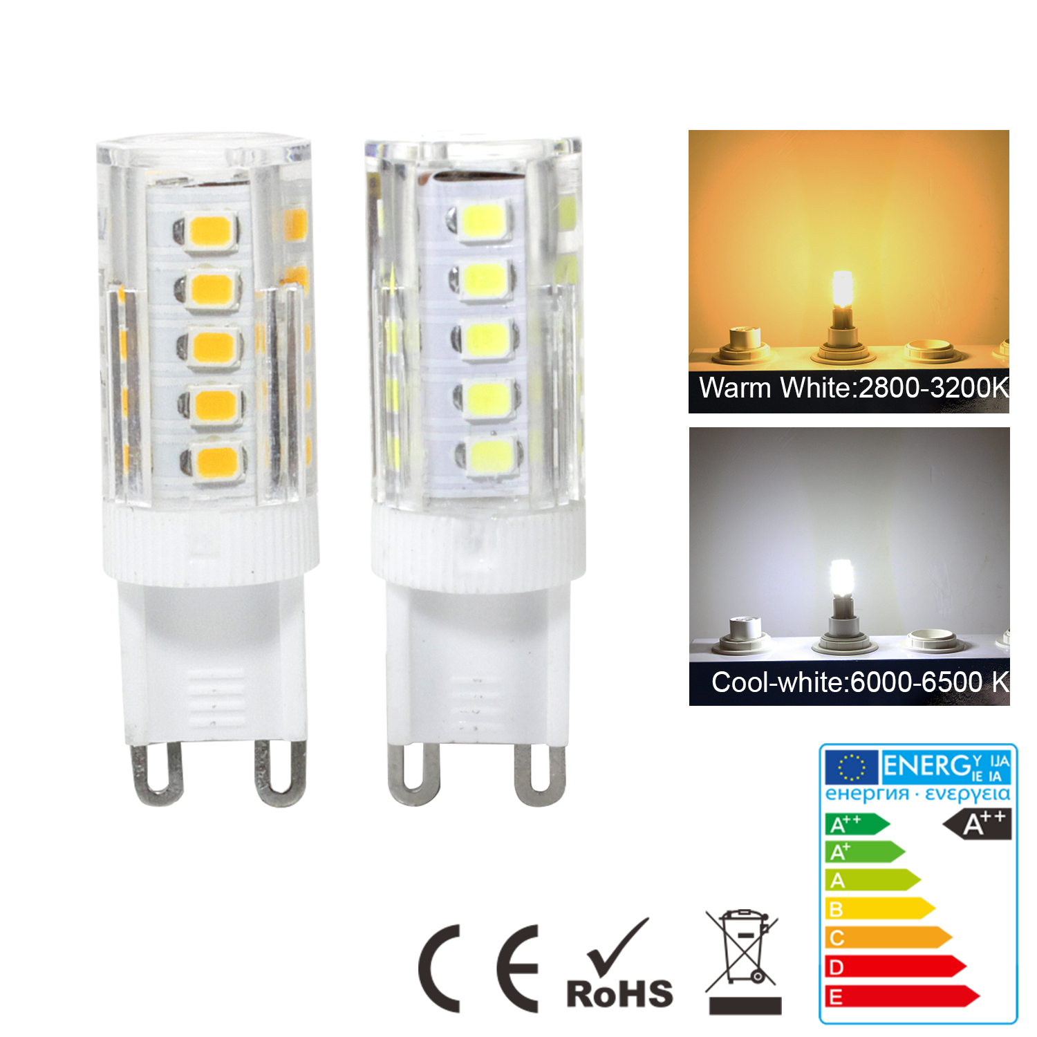 E14-G9-5W-SMD-LED-Ampoule-Mais-Lampe-Capsule-Blanc-Chaud-Froid-Replacer-Halogene