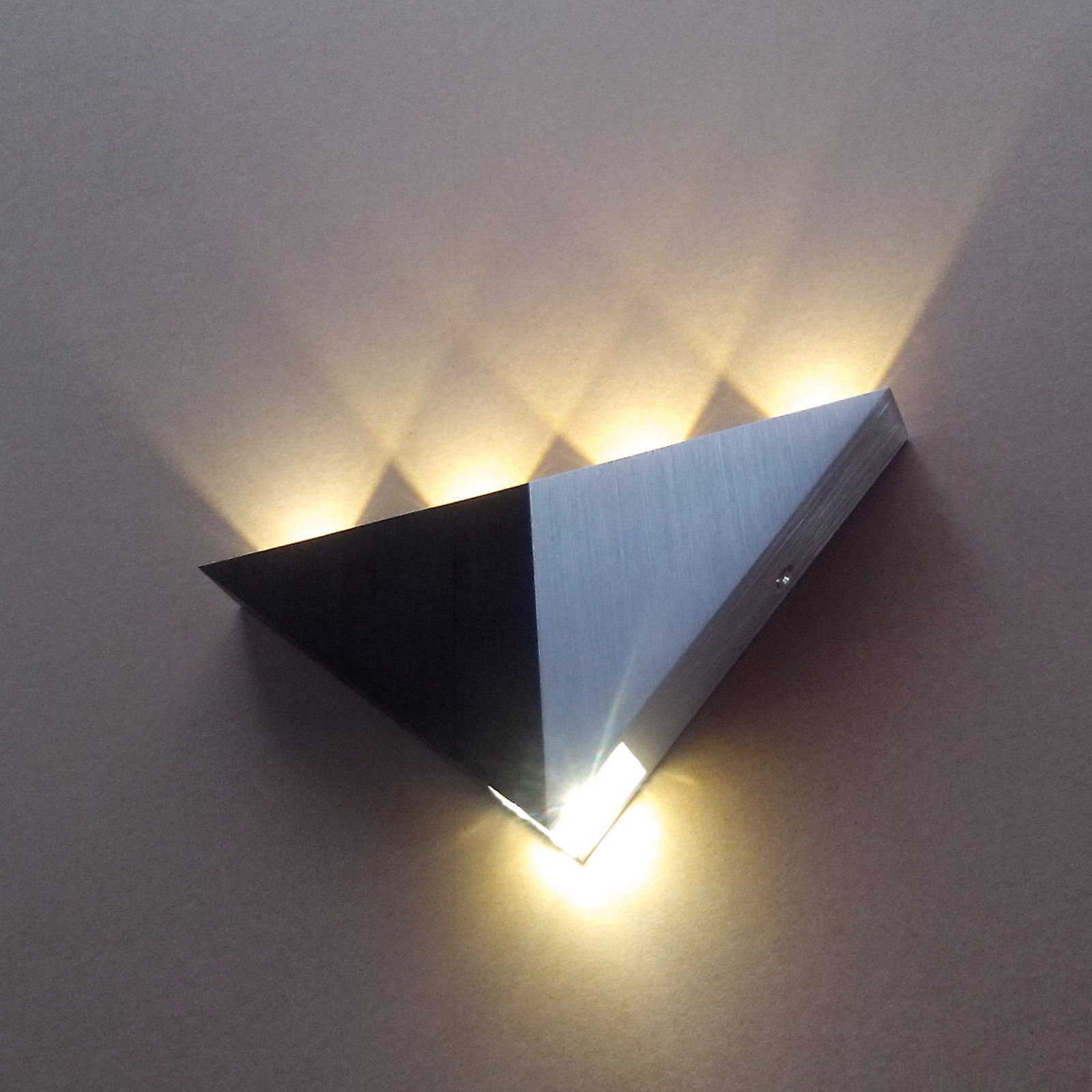 Indoor Wall Lights: 5-8 LED Modern Aluminum Up Down Wall Light Sconce Indoor